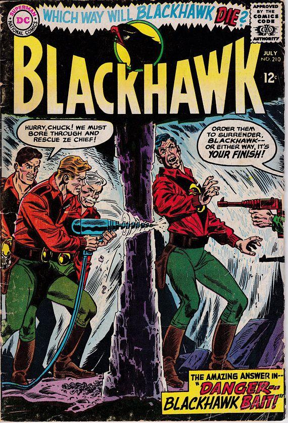Blackhawk 210 July 1965 DC Comics Grade G