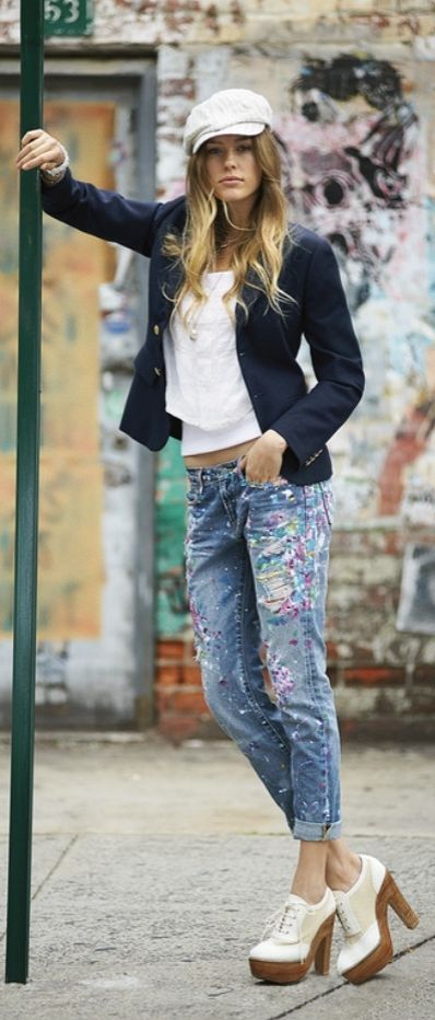 733352764f72 Each pair of Polo Ralph Lauren jeans goes through an intense process of  washing and hand finishing to feel like its been wo…   Polo Ralph Lauren:  Women ...