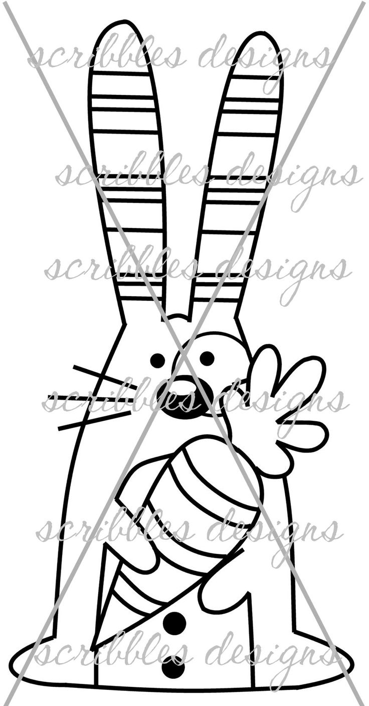 $3.00 Hoppy 5 (http://buyscribblesdesigns.blogspot.ca/2014/03/430-hoppy-5-300.html) #digital stamps #digis #bunny #Easter #carrot #scribbles designs