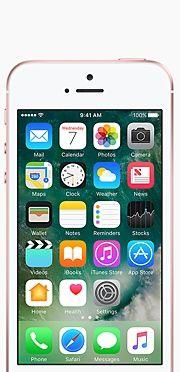 iPhone SE de 16GB Cor de ouro rosa - Apple (BR)