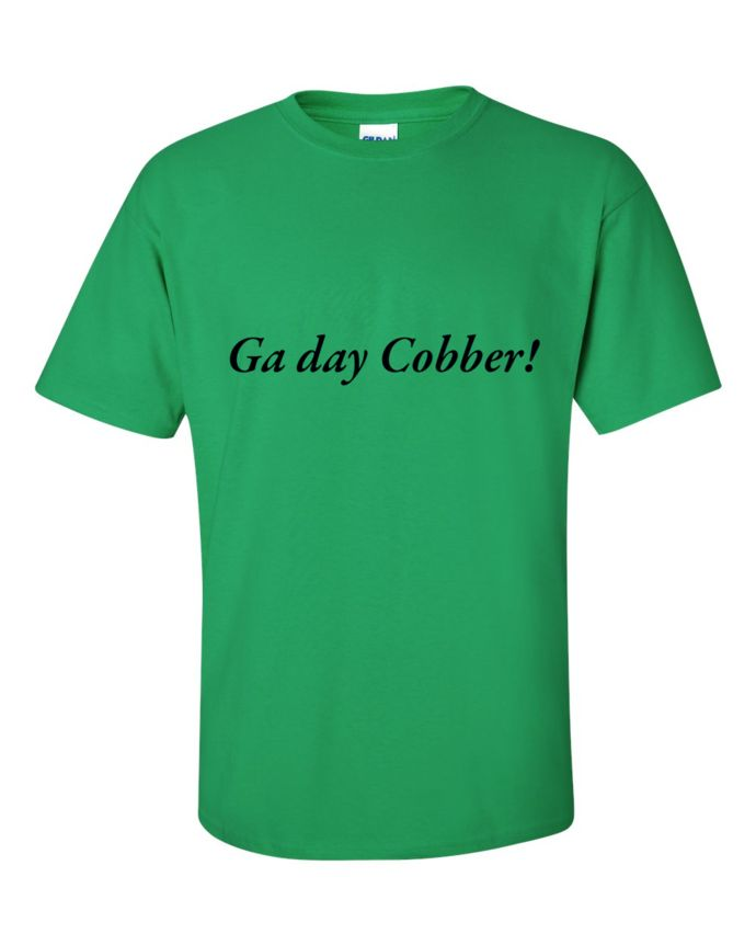 Ga day cobber! by argaostar, $20.00 USD