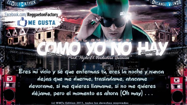 """Ñengo Flow - """"Como yo no Hay"""" con Letra ★New Romantic Reggaeton 2011★"""