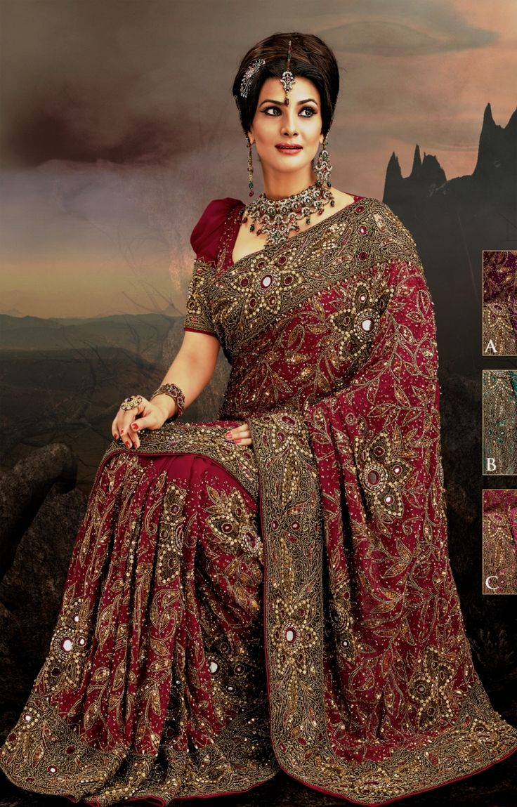159 Best Images About Exotic Clolorful Wedding Dresses Indian Pakistani On Pinterest