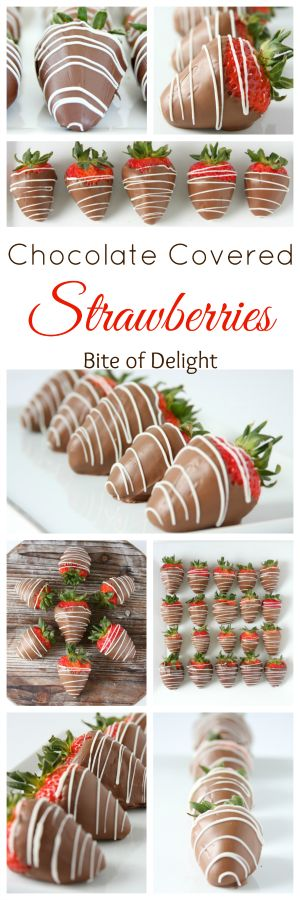 bite of delight: Chocolate Covered Strawberries and a Mother's Day GIVEAWAY!