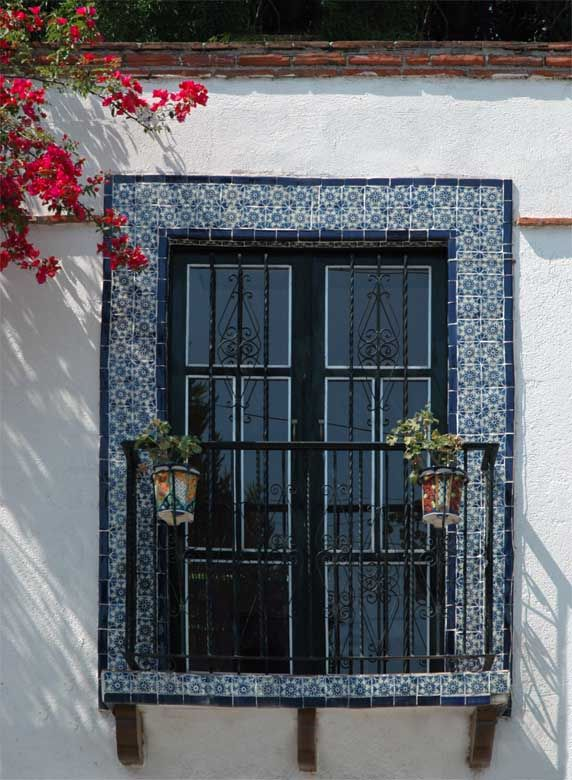 Love this look! Hacienda Dreaming: Traditional Tile Sources   California Home + Design