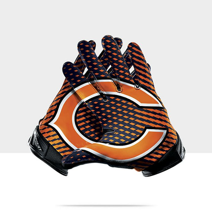 NFL Bears Men,s Football Gloves.  Everything Chicago Bears!! Go Bears.  Pinterest  Gloves