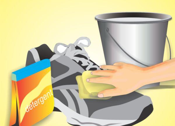 sportschuhe waschen stoffturnschuhe leder waschen