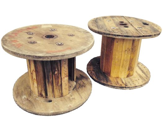 Cable Drum Coffee Table - South Coast Party Hire