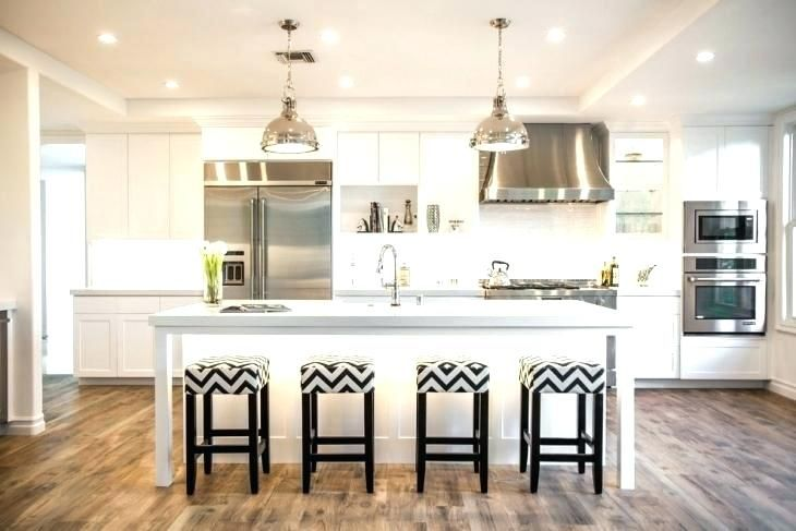 Kitchen Islands:One Wall Kitchen With Island One Wall ...