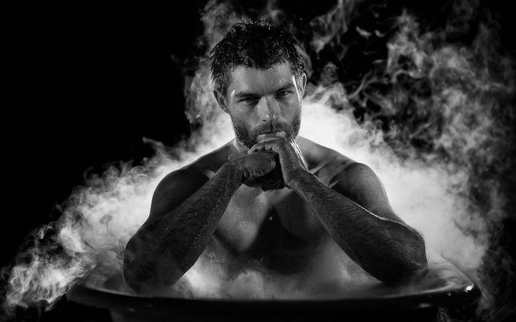 Лиам Макинтайр Спартак актер ванны мужчины сексуальный красивый кусок