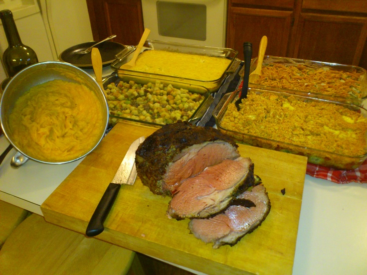 Thanksgiving Prime Rib