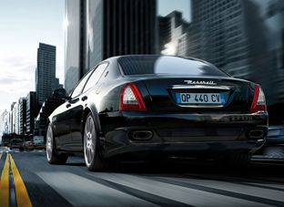 Maserati Quattroporte. This would be MY family car