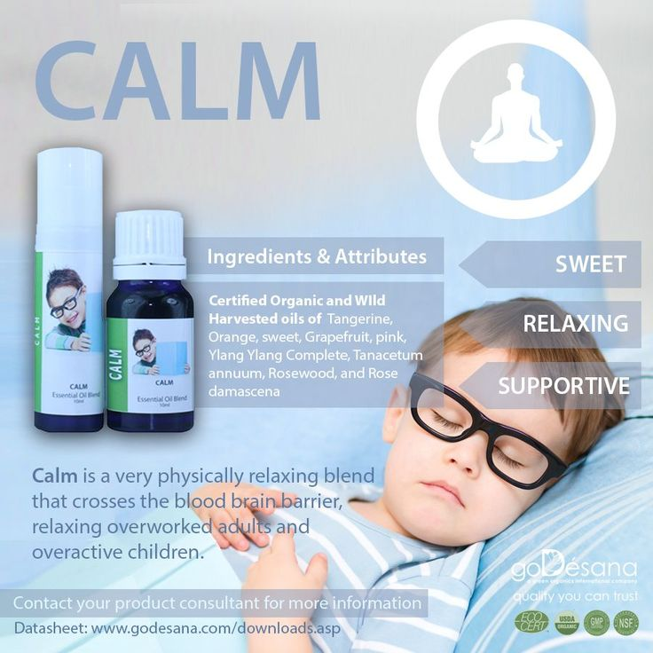 Calm Essential Oil, crosses the blood brain barrier for overworked adults and overactive children