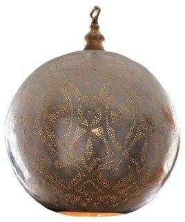 egyptian arabesque lamp - mediterranean - pendant lighting - - by l'aviva home $495