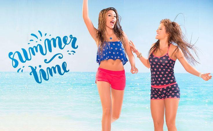 Summer Time! Llegó la hora de divertirse! Llama a tus amigas y comparte una tarde espectacular llena de diversión y sol. Y claro, al mejor estilo Carmel Teens ;)