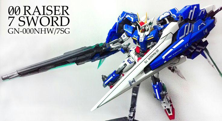 1:100 gundam 00 raiser 7 sword DABAN.