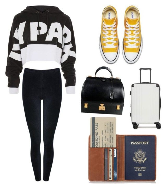 """""""Untitled #10"""" by tripti917 on Polyvore featuring CalPak, M&Co, Topshop, Hermès and airportstyle"""