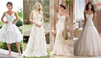 Vestidos de noiva para baixinhas dicas para acertar