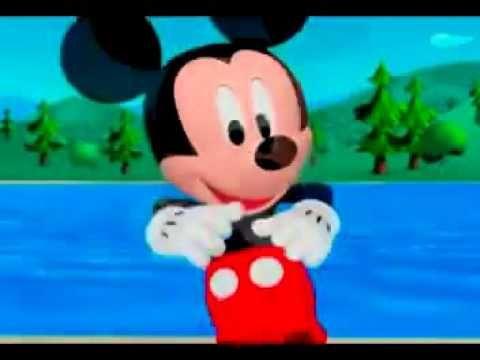 Canción de la casa de mickey mouse en español latino Cancion - YouTube