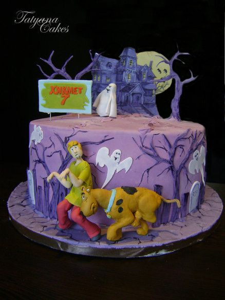 Scooby doo cake - by tatyana_cakes @ CakesDecor.com - cake decorating website