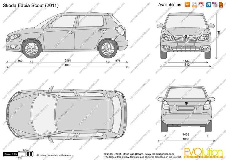 Skoda 100 - blueprints (ai, cdr, cdw, dwg, dxf, eps, gif, jpg, pdf - copy blueprint engines bp3501ctc1