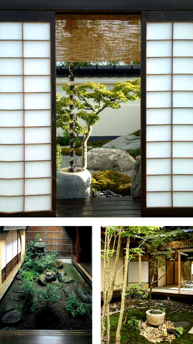 Japanese Architecture Shoji screens traditional are made