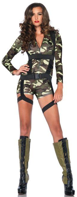 Goin' Commando GI Special Forces Sexy Costume - The Costume Shoppe