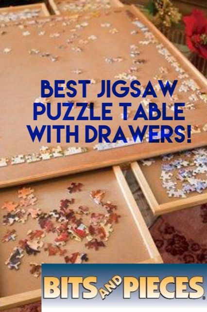 Puzzle table with drawers!