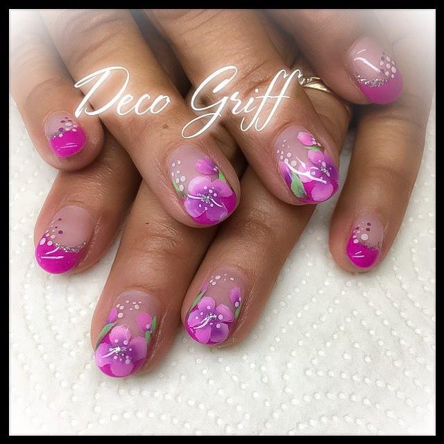187 best ongle deco griff 39 images on pinterest - Nail art printemps ...