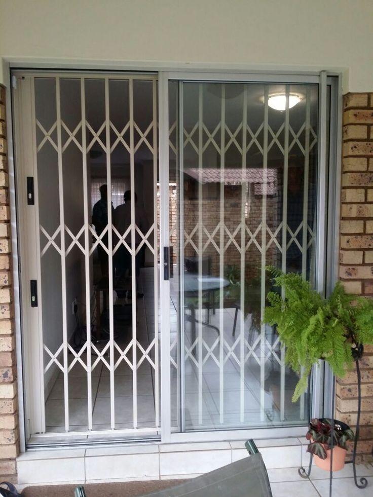 Expandable Security Doors. Keep the burglars away! All steel, no plastics!