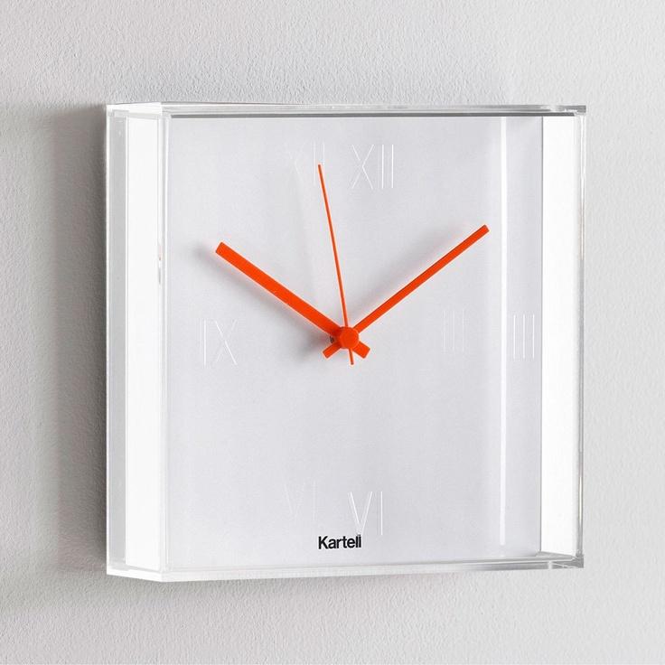 Tic Clock White