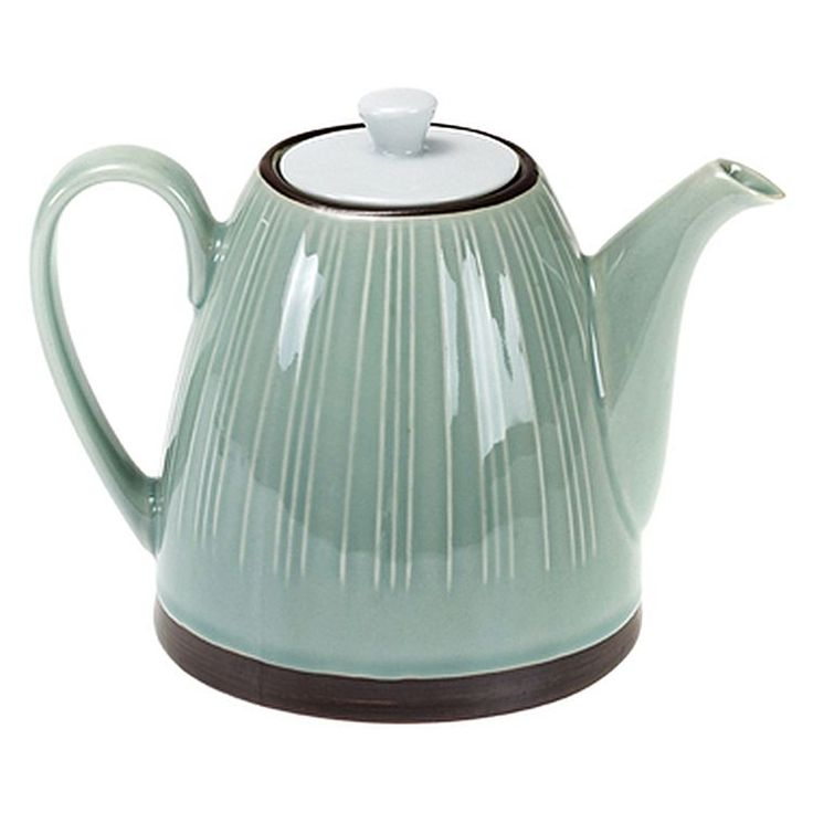Experience an authentic Japanese tea service with the colourful Kyoto Oriental Teapot from Casa Uno.