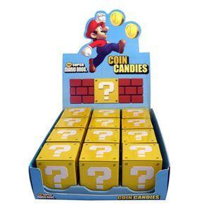 Bonbons nintendo cube magique super mario bros, cadeau geek