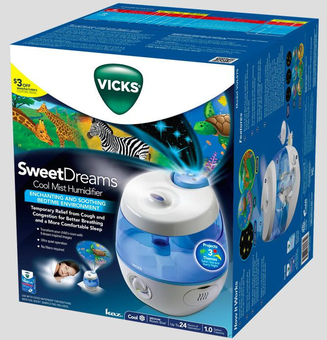 Vicks Sweet Deams Cool Mist Humidifier