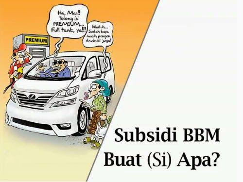 Paradox Subsidi BBM