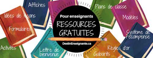 Ressources gratuites pour enseignants