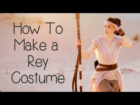 How to Make a Rey Costume (Star Wars) - Atelier Heidi - YouTube