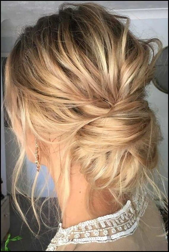 10 updos for medium-length hair from top salon stylists - #out # for #hair #double brooches # medium length