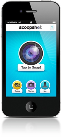 Device image of Scoopshot.com