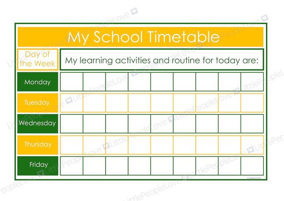 how to see timetable at csu