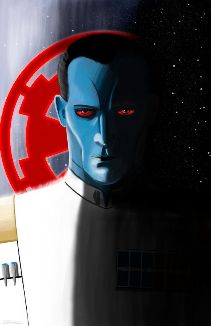 Grand Admiral Thrawn #starwars #chiss