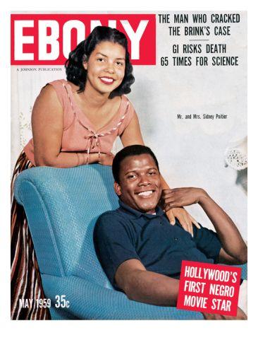 Historic Ebony Magazine Covers May 1959