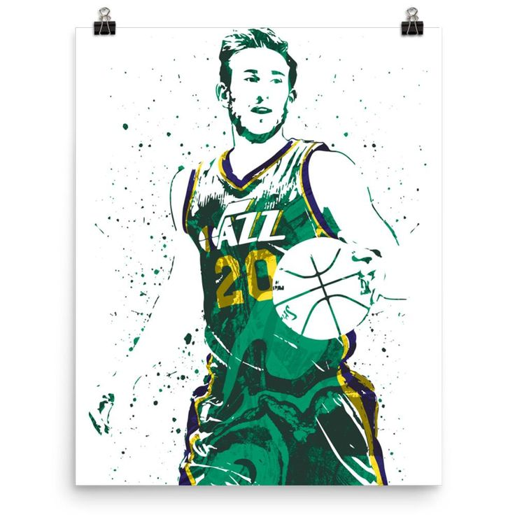 Gordon Hayward Utah Jazz Poster