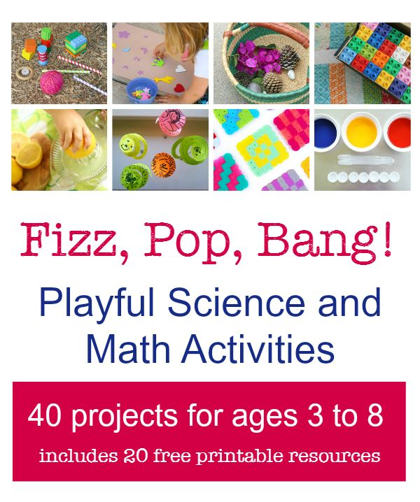 Fun math activities and creative science experiments. Comes with 20 free printables - prefect STEM activities for school or homeschool