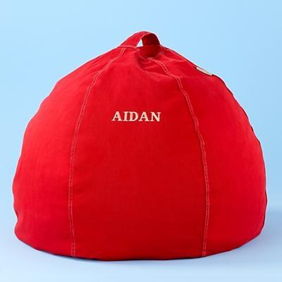 redpersonalizedbeanbag_Aiden
