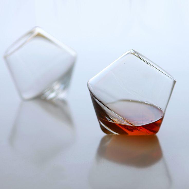 Cupa - Rocks Whiskey Tumbler 2 Pack. I love these glasses.