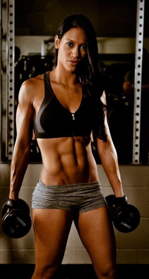 Summer is almost here.  #strongwomen #abs