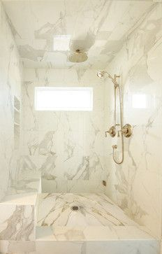 Master Shower - traditional - bathroom - los angeles - Courtney Blanton Interiors