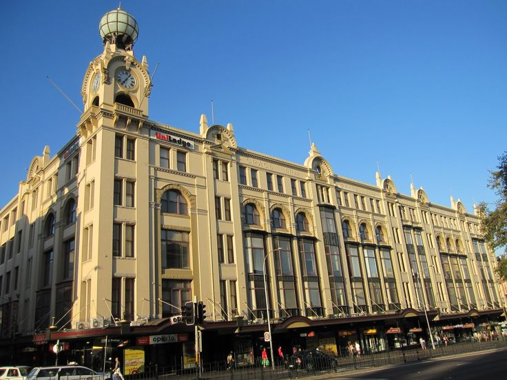 Grace Bros Department Store Sydney - on Broadway. as it is today.