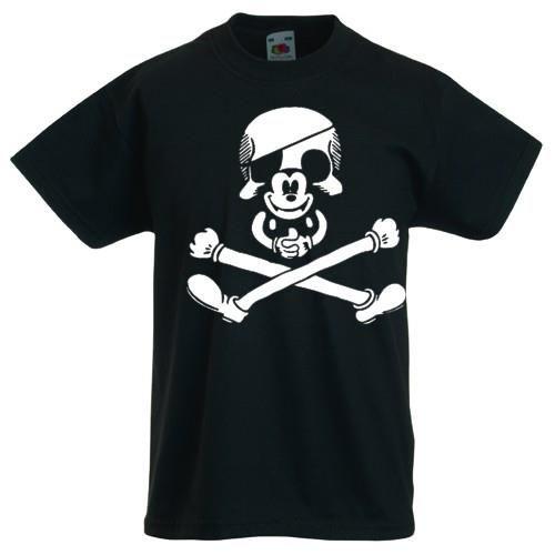 Детские футболка с черепом